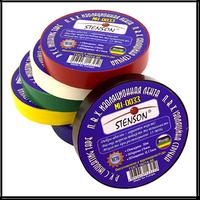Изолента пвх STENSON цветная (10м)