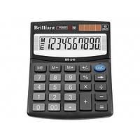 Калькулятор 10 разрядный Brilliant BS-210