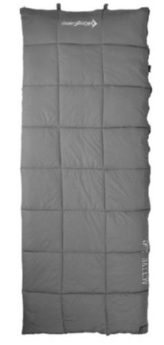 Спальный мешок KingCamp ACTIVE 250(KS3103) / 6°C, L Grey 95054 серый