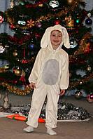 Новогодний костюм зайчика на 2, 5-3, 5-4 года на прокат