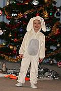 Новогодний костюм зайчика на 3-5 лет(рост 98см белый и рост 104см серый) на прокат