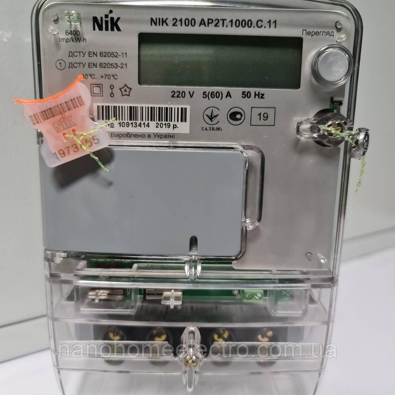 Двухтарифный счетчик Nik 2100 AP2T.1000.C.11