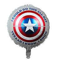 Фольгированный шар Капитан Америка (Китай)