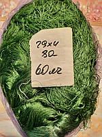 Частина ляльки з нитки № 29х4 яч 80 мм-60х150