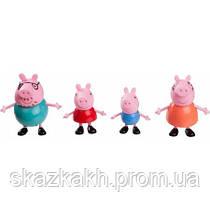 Набор фигурок Семья свинки Пеппы (Peppa Pig Family Pack, Figures, 4-Pack)