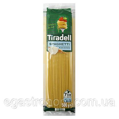Макарон Тіраделл спагетті Tiradell spaghetti 500g 20шт/ящ (Код : 00-00005810)