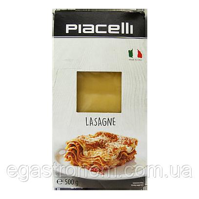 Макарони Піачеллі лазанья Piacelli lasagne 500g 12шт/ящ (Код : 00-00005804)