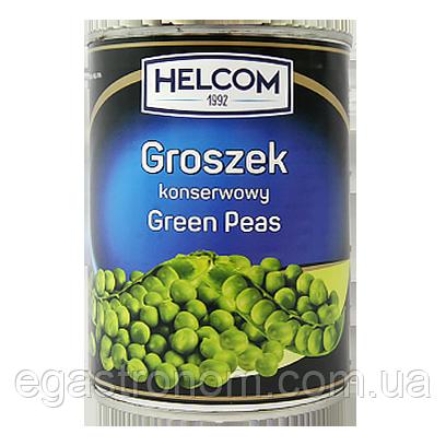 Горох консервований Хелком Helcom 400/240g 10шт/ящ (Код : 00-00005805)