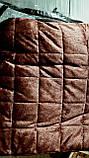 Велюр стеганний плед-покривало, фото 3