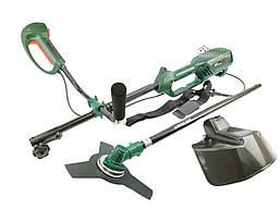 Триммер электрический электрокоса Минск МТЭ-3800 (плавный пуск, нож, катушка с леской)