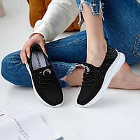 Женские кроссовки Гипанис 582 чёрные