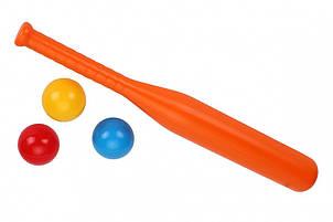 Игровой набор бейсбол ТехноК 4968TXK (Оранжевый)