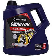 Синтетичне моторне масло SmartOil 5W-30, 4 л., фото 1
