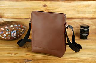 "Мужская сумка ""Модель №88"", кожа Grand, цвет Виски, фото 2"