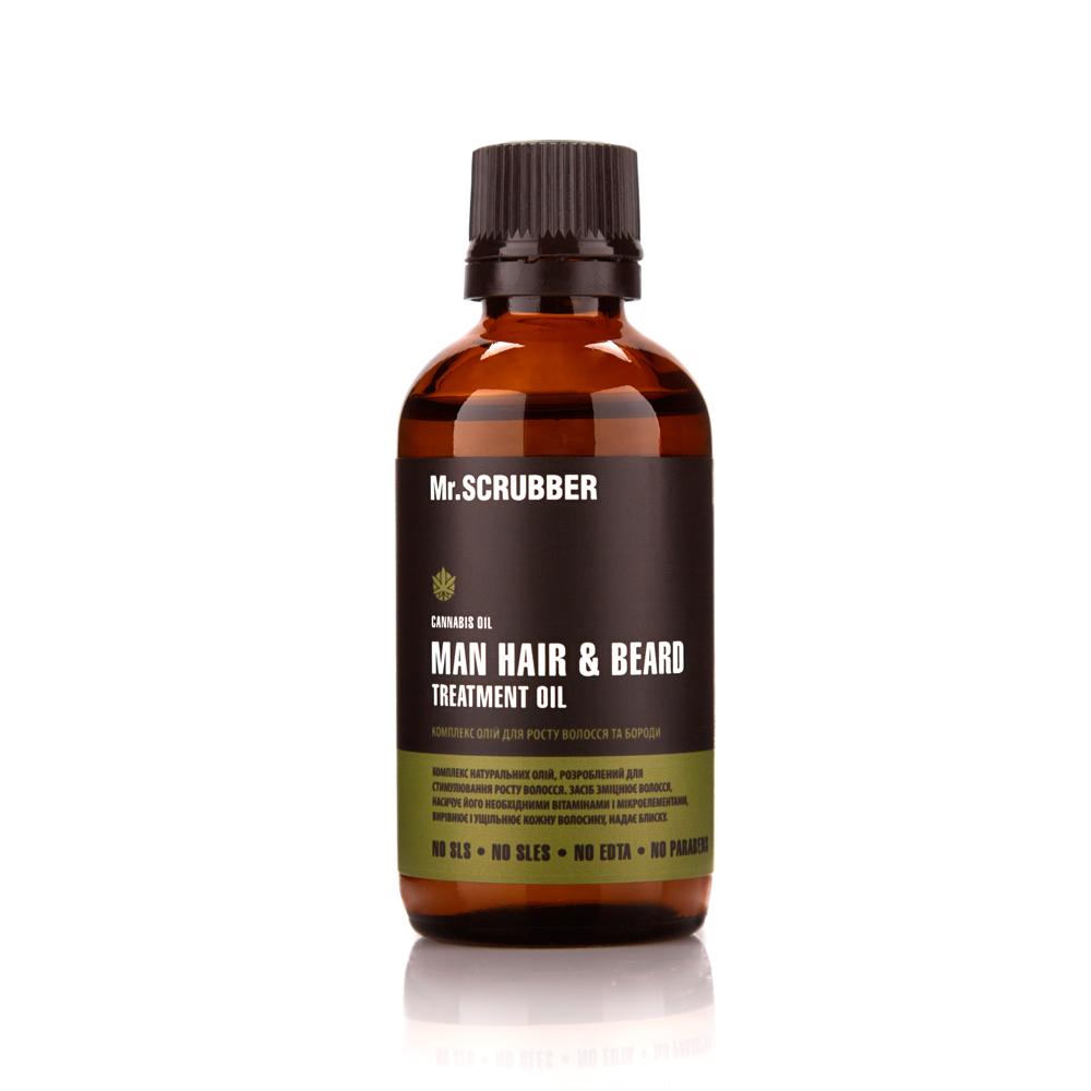 Комплекс олій для росту волосся і бороди MAN Tea Tree Mr.SCRUBBER