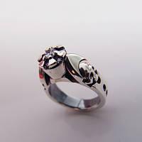 "Серебряное кольцо ""Twilight"" от WickerRing"