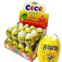 Шоколадное яйцо Це - Це Той CeCe Toy 25 гр.