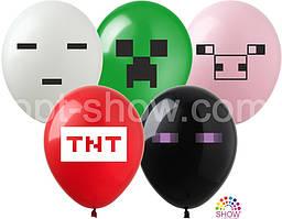 Воздушные шары Майнкрафт-2 TM Show (100 штук)