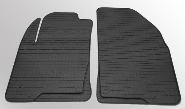 Резиновые коврики Ford Fiesta 02-08/Ford Fusion 02-/ Mazda 2 02- (передние - 2 шт) 1007082 Stingray