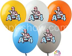 """Воздушные шары VLAD A-4 12"""" (100 штук)"""
