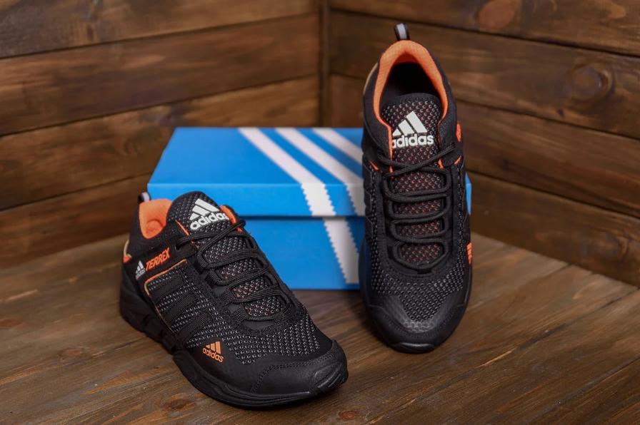 Мужские летние кроссовки Adidas Terrex сетка