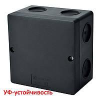 Распределительная коробка черная с ip66, 100х100х60мм, KSK 100_FA, КОПОС