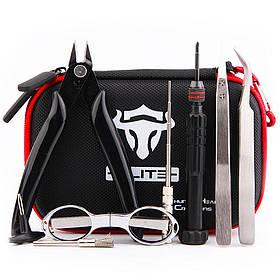Набор инструментов для намотки THC Tauren Elite V1 | Многофункциональный набор инструментов для вейпа