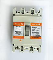 Автоматический выключатель ElectrO ВА77-1-250 3 полюси 125А 10In (8-12In)  Icu 35кА Ics 22кА 400В