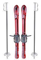 Детские лыжи 90 см. Marmat с палками, Formes Toys 90 см.
