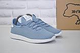 Женские лёгкие голубые кроссовки сетка Restime, фото 2