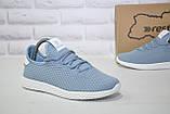 Женские лёгкие голубые кроссовки сетка Restime, фото 3