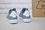 Женские лёгкие голубые кроссовки сетка Restime, фото 5