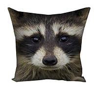 Подушка Енот,декоративные подушки