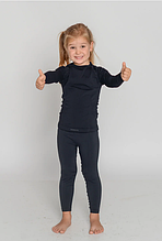 Дитяча термобілизна Tervel Чорний 115-130 см