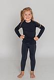 Детское термобелье Tervel  Черный 115-130 cм, фото 3
