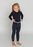 Детское термобелье Tervel  Черный 115-130 cм, фото 5