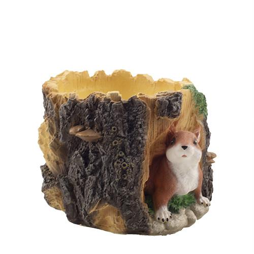 Кашпо Decoline Білочка з деревом (вел.) (гіпс) K0722(G)