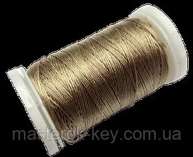 Нитка поліестер для ручного шиття і рукоділля dtex 233/3 колір Бежевий 2429