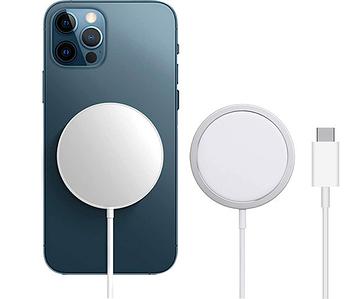 Беспроводное зарядное устройство Apple MagSafe Универсальная зарядка для телефона 15W Type-C 100% Копия