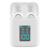 Бездротові сенсорні вакуумні навушники i33 5.0 з кейсом Bluetooth гарнітура для спорту Індикація заряду, фото 6