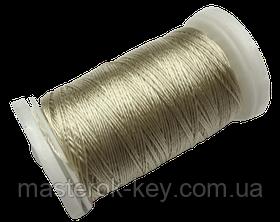 Нитка поліестер для ручного шиття і рукоділля dtex 233/3 колір Молочний 2354