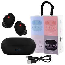 Беспроводные вакуумные сенсорные наушники TWS 08 Bluetooth 5.0 гарнитура с микрофоном для телефона с кейсом, фото 2