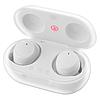 Беспроводные вакуумные наушники TWS 08 Bluetooth 5.0 Сенсорная гарнитура с микрофоном для телефона с кейсом, фото 3