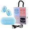 Беспроводные вакуумные наушники TWS 08 Bluetooth 5.0 Сенсорная гарнитура с микрофоном для телефона с кейсом, фото 6