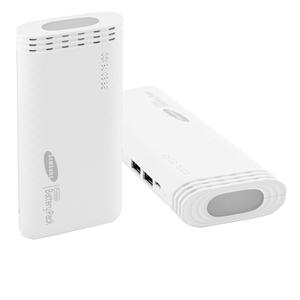 Универсальный мобильный Power Bank Samsung 30000mAh Внешний портативный аккумулятор для телефона с фонариком