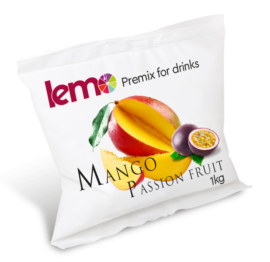 Пюре Lemo Манго-Маракуйя із кісточкою