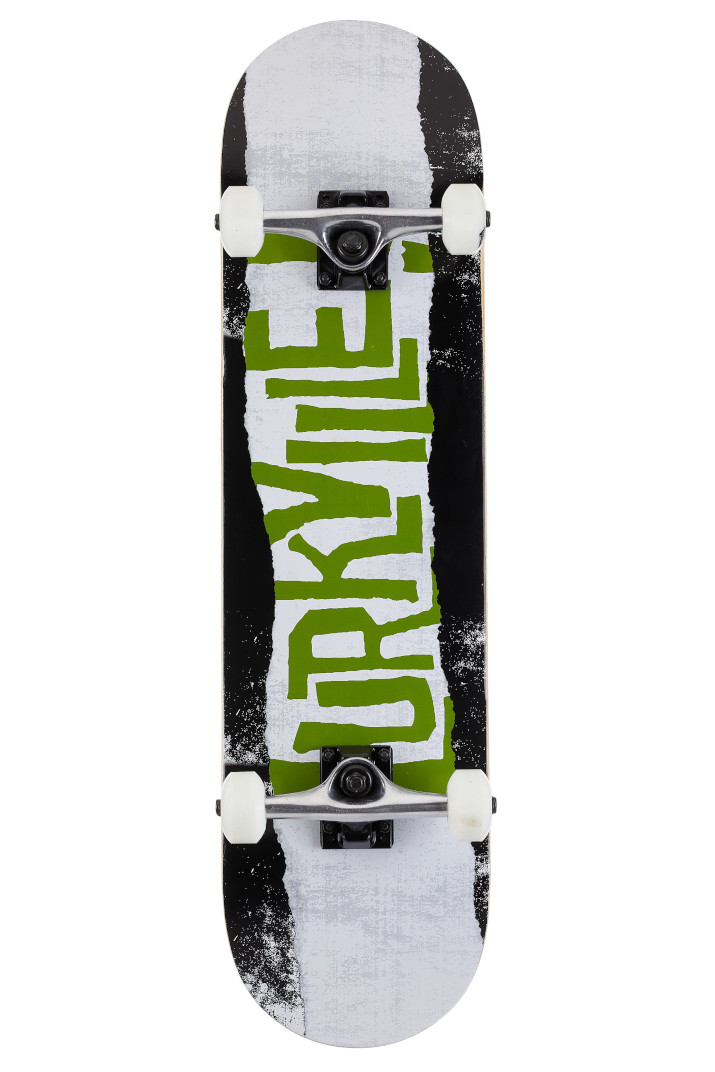 "Скейт комплит Lurkville Torn (black-green) 8.0"""
