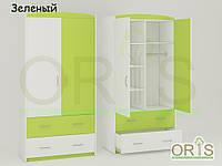 Шкаф ORIS Classik Maya (Бело-Зеленый)