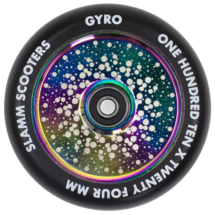 Колесо для трюкового самоката Slamm Gyro neochrom 110 мм