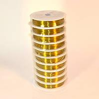 Проволока золотая (в уп. 10 бабин)